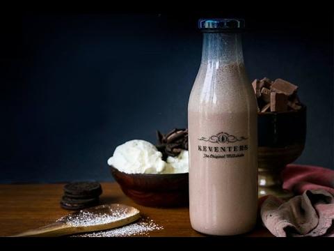 How to make Keventers Nutella Hazelnut  Milkshake?