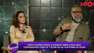 Thappad team Taapsee Pannu & Anubhav Sinha share their views on Delhi protest |Promo |Today, 7.30 pm