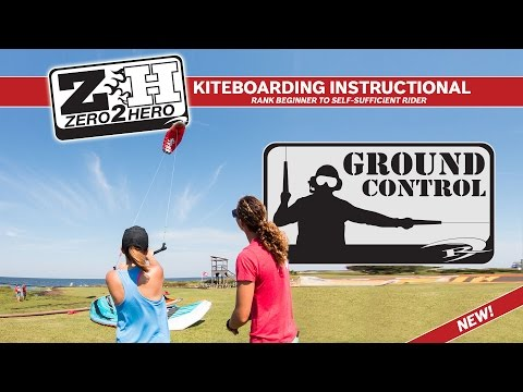 Kiteboarding Lessons: How to Fly a Trainer Kite | Introduction to Kiteboarding (1 of 6)