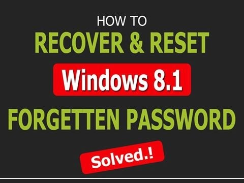 How to Reset Windows 8.1 password with Hirens