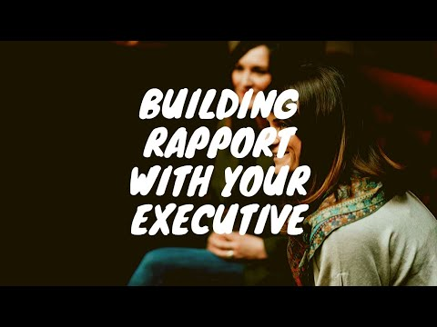 Building Rapport with your Manager