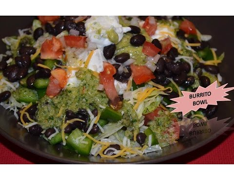 Mexican Burrito Bowl by Home Kitchen