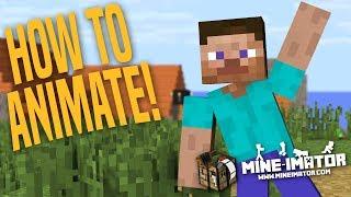 Mine Imator Tutorial How To Animate K