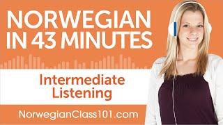 43 Minutes of Intermediate Norwegian Listening Comprehension