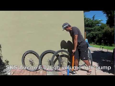 Installing Tubeless tires with Floor Pump and Compressor