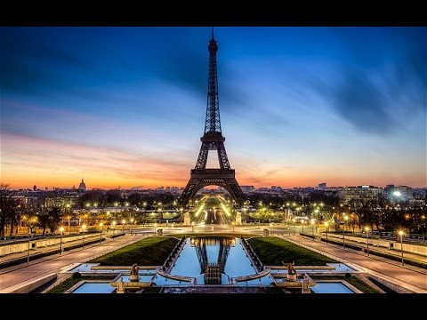 The Eiffel Tower, Louvre and Notre Dame de Paris