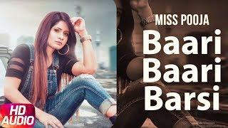 Baari Baari Barsi | Audio Song | Miss Pooja | G Guri | Latest Punjabi Song 2017 | Speed Records