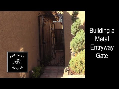 Metal Entryway gate