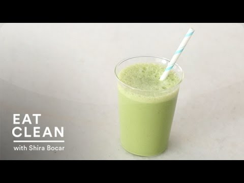 Kale, Pineapple, and Almond-Milk Smoothie - Eat Clean with Shira Bocar