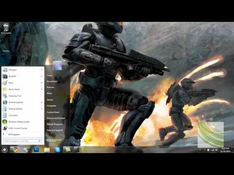 Windows 7: How To Get The Run Button In Your Start Menu