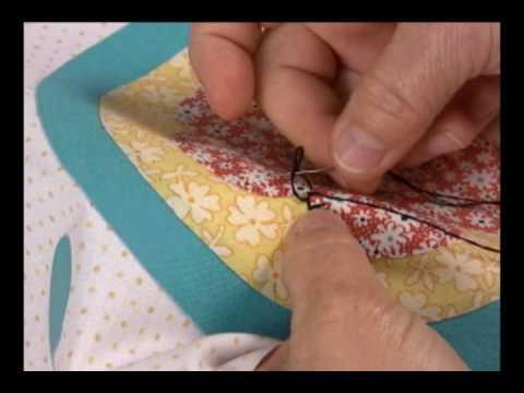 Blanket Stitch by hand
