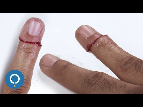 Sliced Finger Prank - Step by Step Makeup tutorial for Halloween