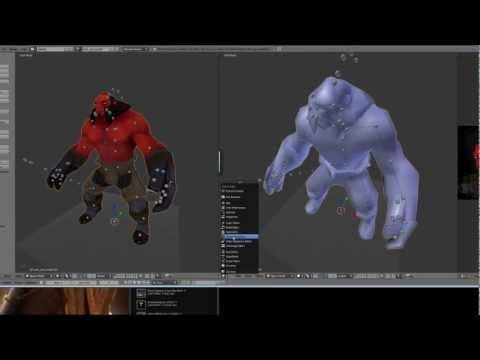 DOTA2 Workshop Tutorial 1 - Importing to Blender