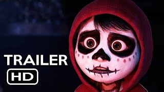 Coco Official Trailer #4 (2017) Gael García Bernal Disney Pixar Animated Movie HD