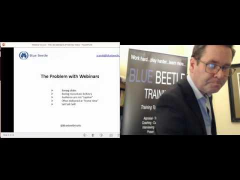 Webinar VS Live Training - YOU decide!!