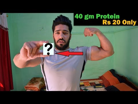Cheapest High Protein Food for Indian Bodybuilding | No Supplement Needed