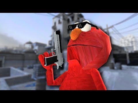 Elmo upgrades his CS:GO experience