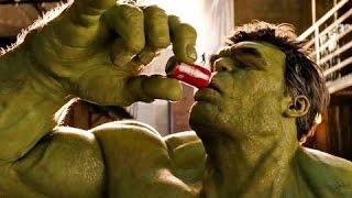 Homem Formiga rouba Coca-Cola de Hulk em comercial