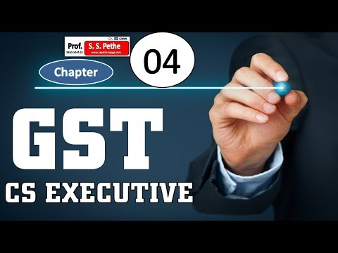 GST-4A- important Definitions under CGST Act 2017 CS Executive explained
