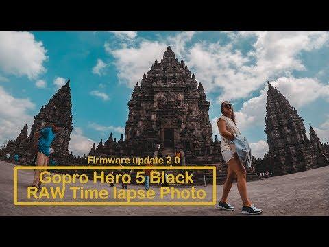 Gopro Hero 5 RAW Time lapse photo settings