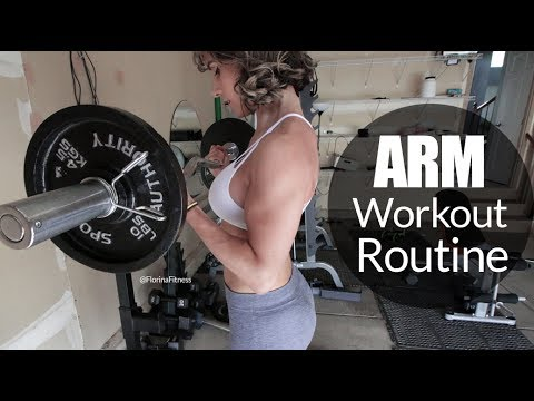 Sexy Built and Toned Arm Workouts For Women & Men - Biceps,Triceps & Shoulders,  Vlog 140