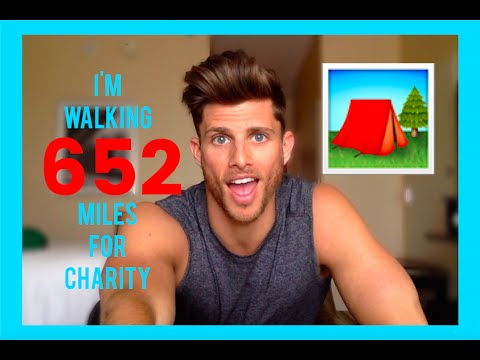 I'm Walking 652 Miles in 45 Days for Charity   Barrett Pall