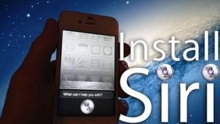 Install And Use Siri On Iphone 4 Without A Spire Server Proxy With An