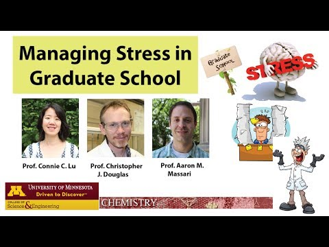 Managing Stress in Graduate School, Part 2: Discussing Stress with Adviser
