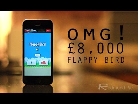 FLAPPY BIRDS iPHONE ON EBAY FOR £8,000!