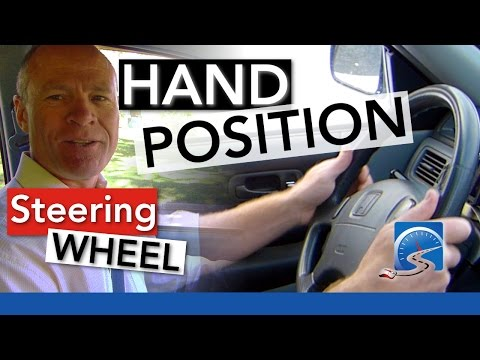 How to Position Your Hands on the Steering Wheel | Passing A Road Test Smart