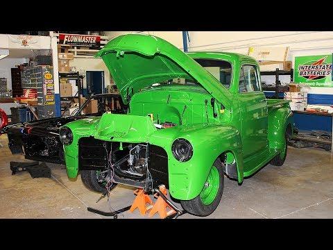 Download 1955 Chevrolet 3100 Crate 350 Pickup Truck Build