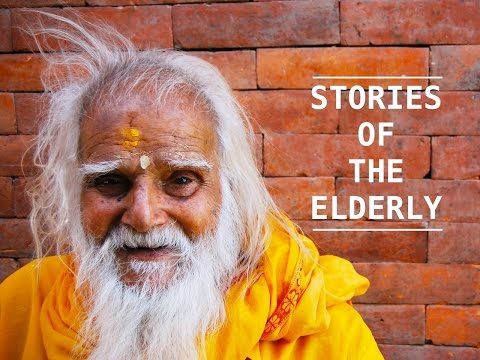 Stories of the Elderly film campaign video