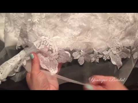 Hem a Lace Wedding Gown