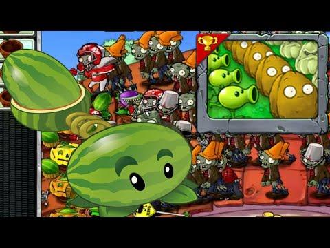 Column like u See em | Melon-pult ATTACK | MINIGAMES | Plants vs Zombies