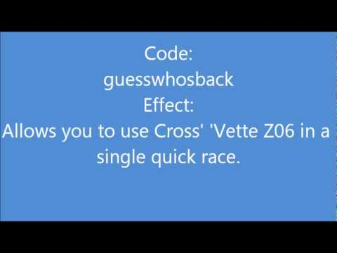 Cheat codes for Need for Speed Carbon (PC)