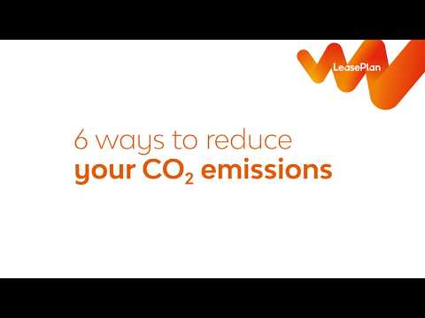 6 ways to reduce your CO2 emissions