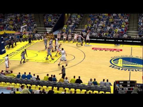 NBA 2K13 online quick match / GSW vs Rockets