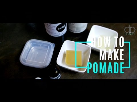 HOW TO MAKE POMADE VERY EASY