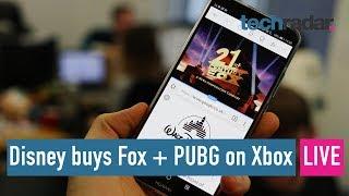 Disney buys Fox, Xbox gets PUBG, Surface Book 2 Q&A - LIVE!