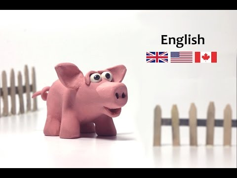 How to make a Clay Piglet - Danny the piglet - Clay animals