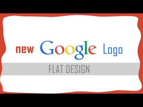 New flat Google Logo & navigation bar
