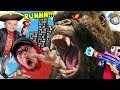 GIANT APE CHASE FGTEEV39s Game Turns Into Music Video FV Family Behind The Scenes