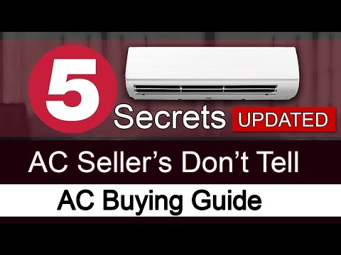 AC Buying Guide | 5 Secrets Which AC Seller's Dont't Tell | Reduce ac power consumption[Hindi]