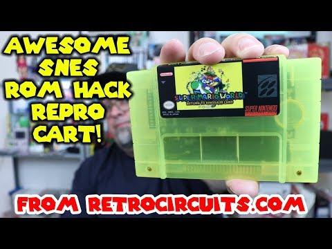 The Best Super Mario World Rom Hack? Return To Dinosaur Land - Repro Cart