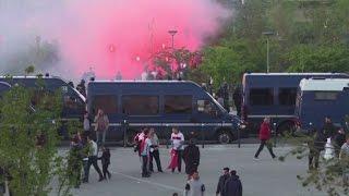 Lione-Besiktas: scontri tra tifosi dentro e fuori lo stadio