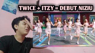 NIZIU - MAKE YOU HAPPY MV REACTION INDONESIA