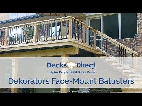 Deckorators Face Mount Balusters
