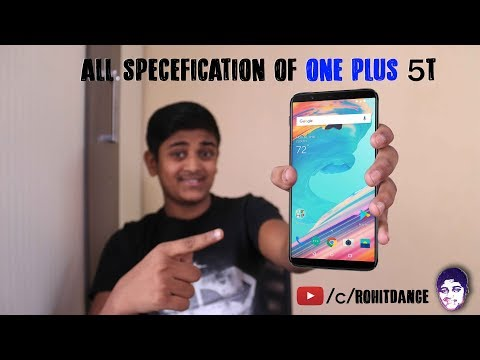 OnePlus 5T Specification with it's Pros & Cons - The Modern OnePlus 5. A New View - OnePlus 5T
