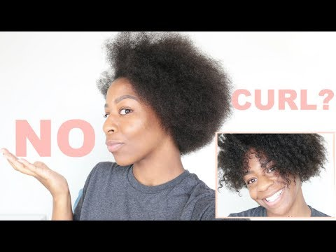 NO CURL PATTERN? DID STRETCHING MY NATURAL HAIR DAMAGE IT? | T'keyah B