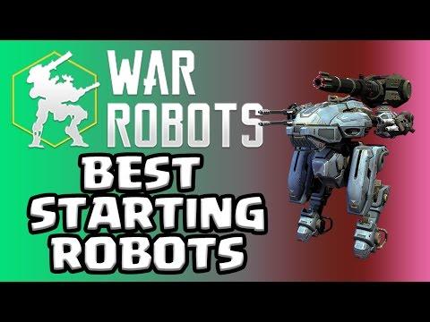 War Robots --- BEST STARTING ROBOTS --- Mobile Mondays